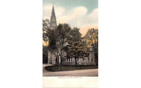 Presbyterian Church Goshen, New York Postcard