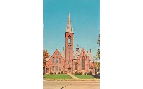 Methodist Church Goshen, New York Postcard