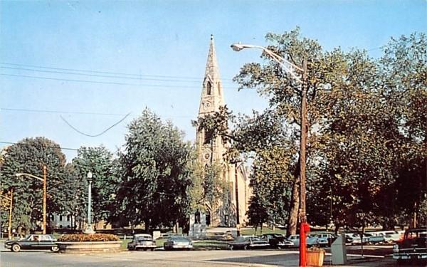Church Park Goshen, New York Postcard