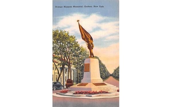 Orange Blossom Memorial Goshen, New York Postcard