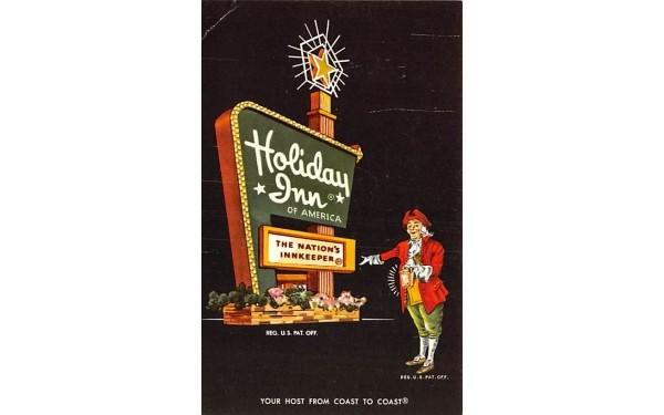 Holiday Inn Goshen, New York Postcard