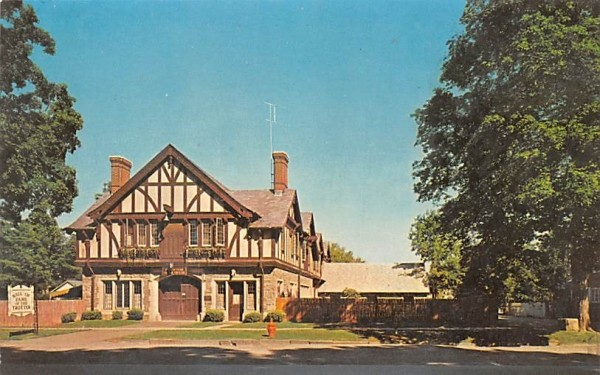 Hall of Fame of the Trotter Goshen, New York Postcard