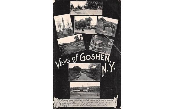 Views of Goshen, New York Postcard
