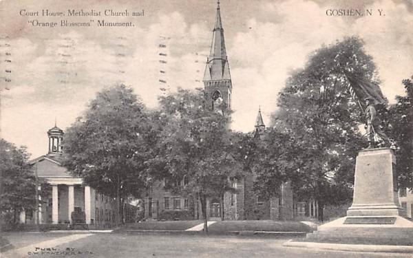 Court House Goshen, New York Postcard