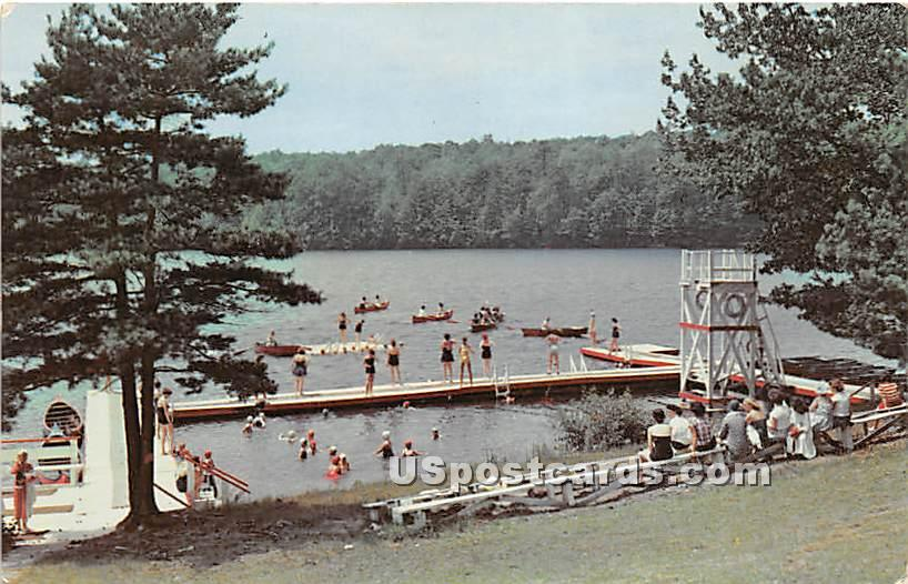 Brookwood Camps - Glen Spey, New York NY Postcard