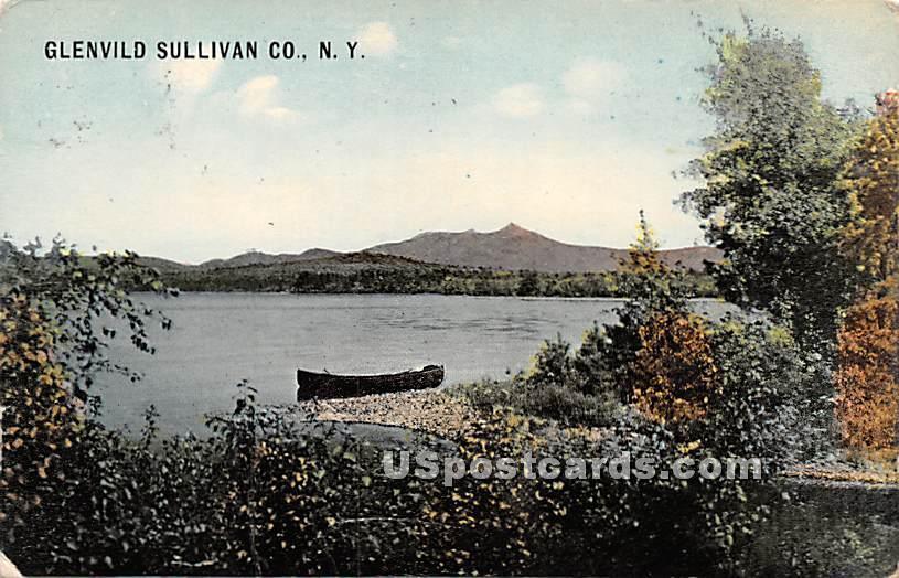 Water Scene - Glen Wild, New York NY Postcard