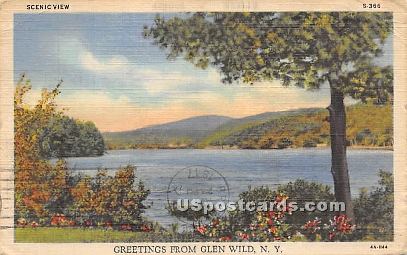 Scenic View - Glen Wild, New York NY Postcard