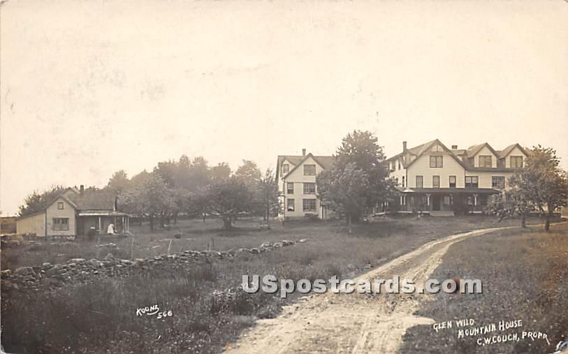 Glen Wild Mountain House - New York NY Postcard