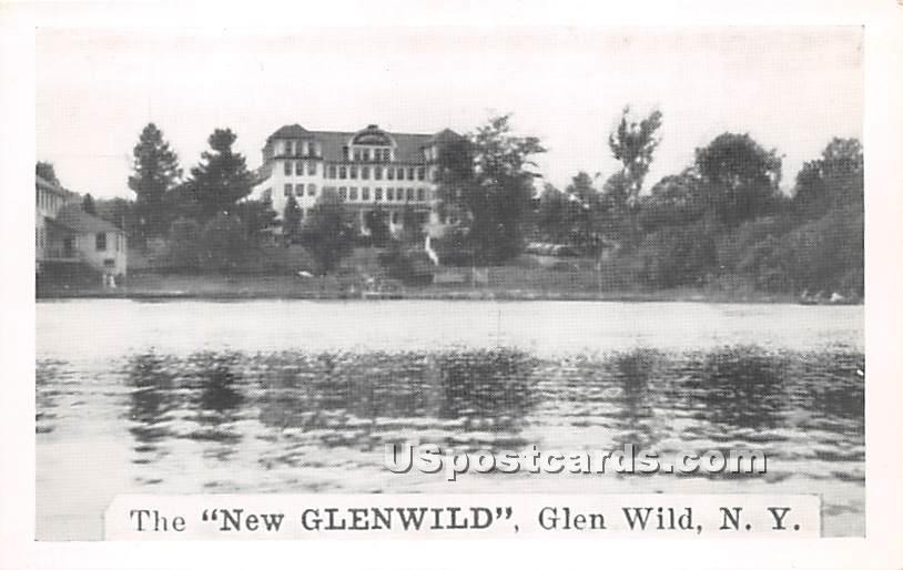 The New Glenwild - Glen Wild, New York NY Postcard
