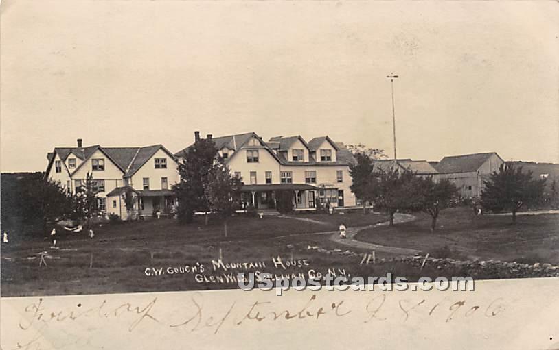 C W Couch's Glen Wild Mountain Farm House - New York NY Postcard