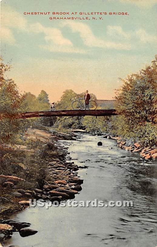 Chestnut Brook - Grahamsville, New York NY Postcard