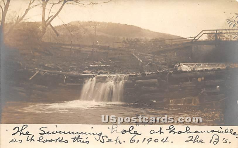 Swimming Hole - Grahamsville, New York NY Postcard