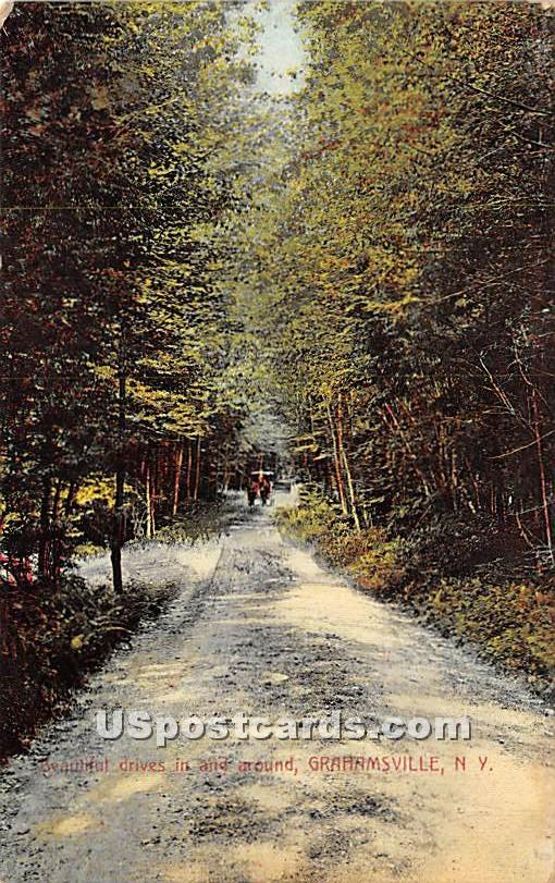 Beautiful Drives in and around - Grahamsville, New York NY Postcard