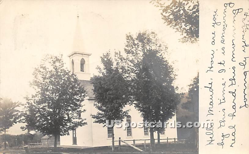 Church - Grahamsville, New York NY Postcard