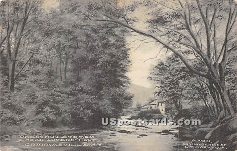 Chestnut Stream - Grahamsville, New York NY Postcard