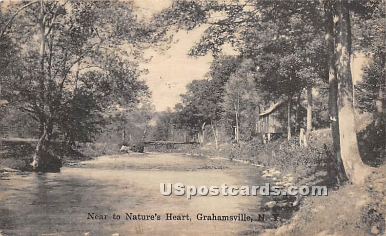 Near to Nature's Heart - Grahamsville, New York NY Postcard