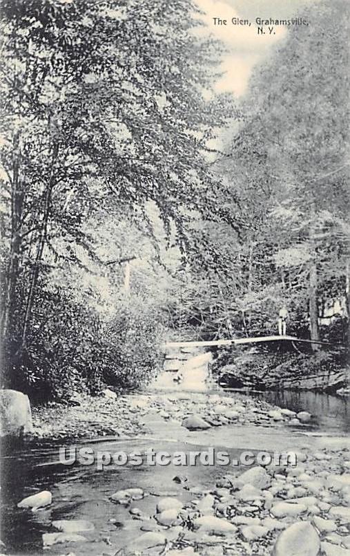 The Glen - Grahamsville, New York NY Postcard