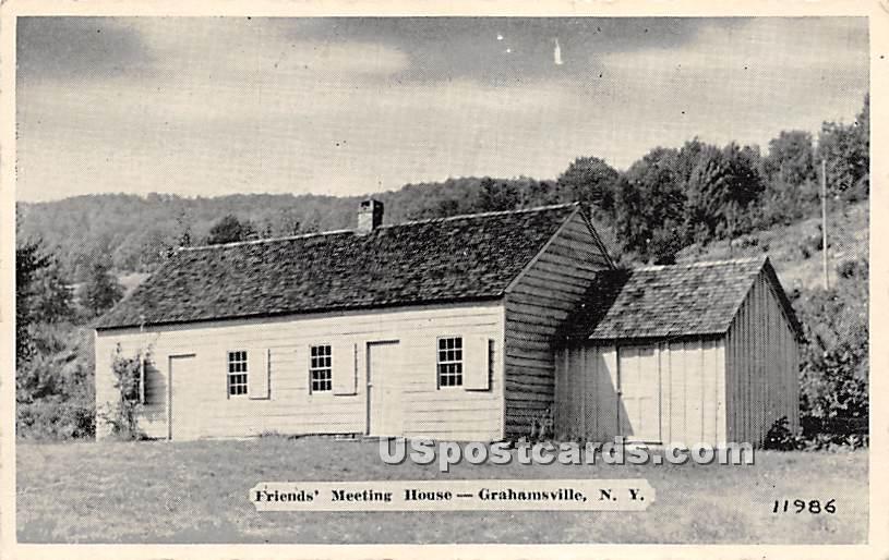 Friends' Meeting House - Grahamsville, New York NY Postcard