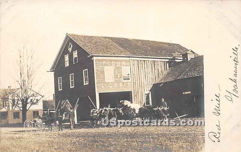 Flour Feed & Grain - Grahamsville, New York NY Postcard