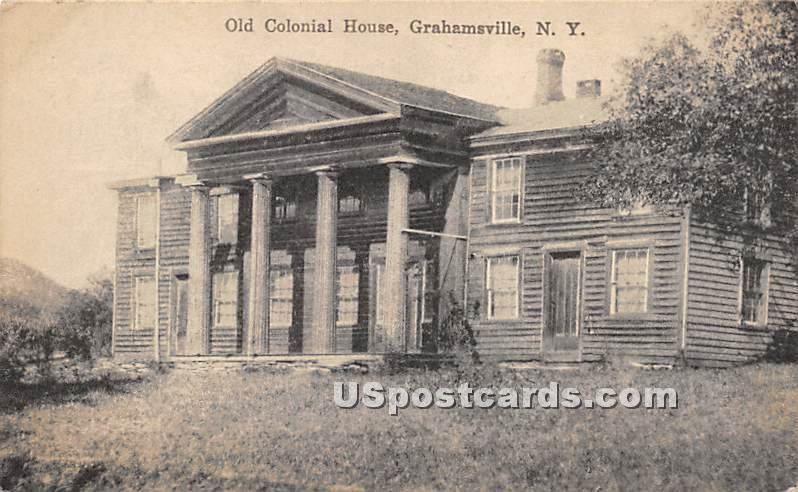 Old Colonial House - Grahamsville, New York NY Postcard