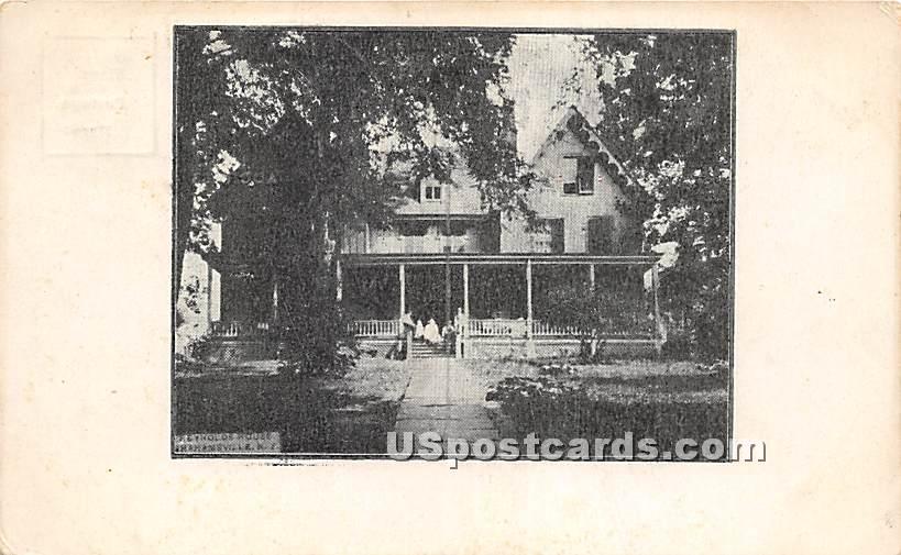 Reynold's House - Grahamsville, New York NY Postcard