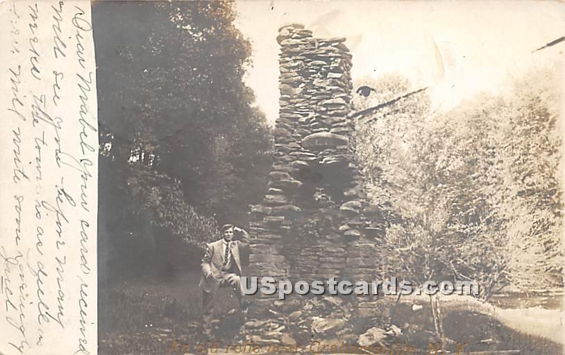 Stone Structure - Grahamsville, New York NY Postcard