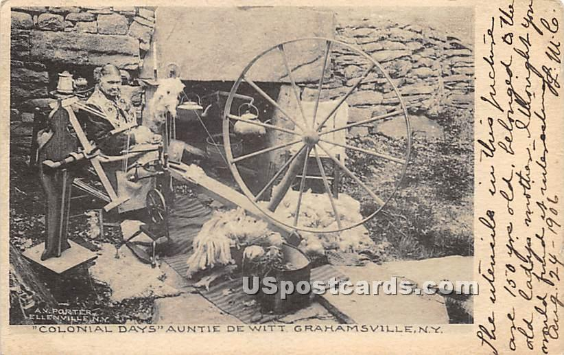 Colonial Days - Grahamsville, New York NY Postcard