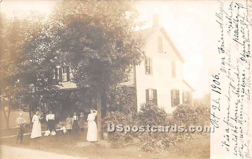 Group of People - Grahamsville, New York NY Postcard