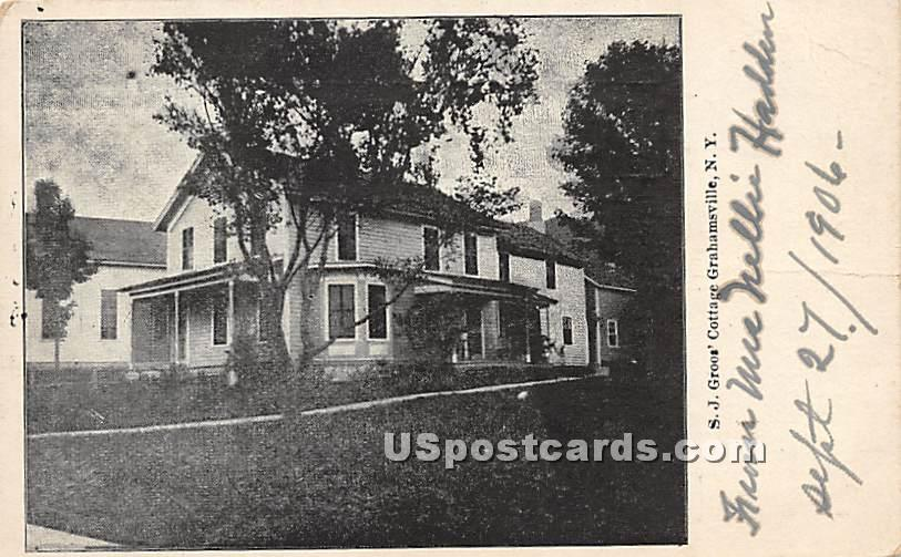 S J Goos' Cottage - Grahamsville, New York NY Postcard