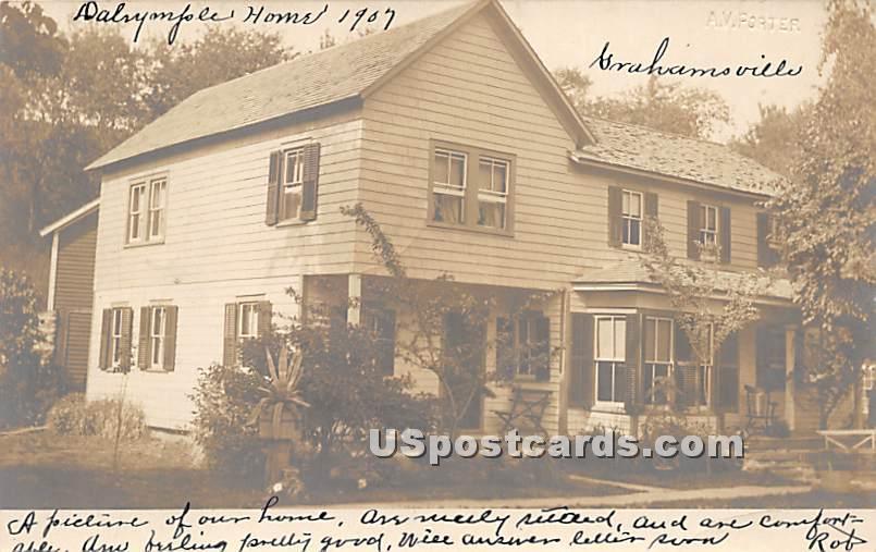 Home - Grahamsville, New York NY Postcard