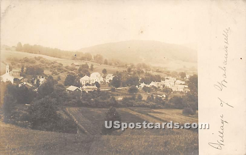 Village - Grahamsville, New York NY Postcard