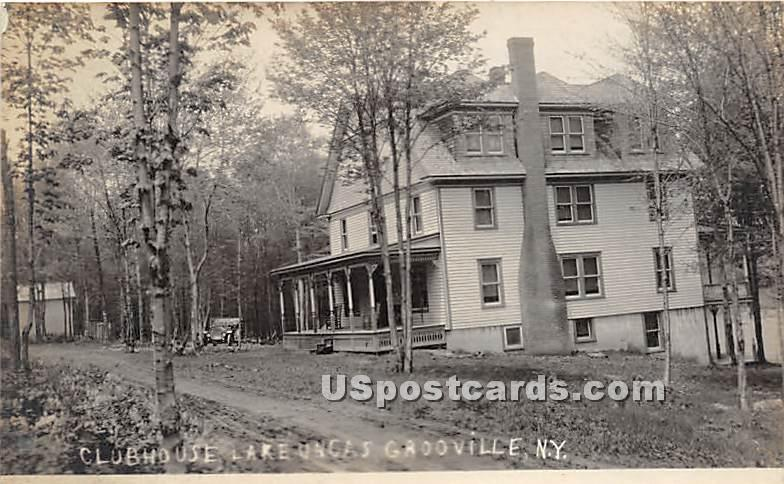 Clubhouse - Grooville, New York NY Postcard