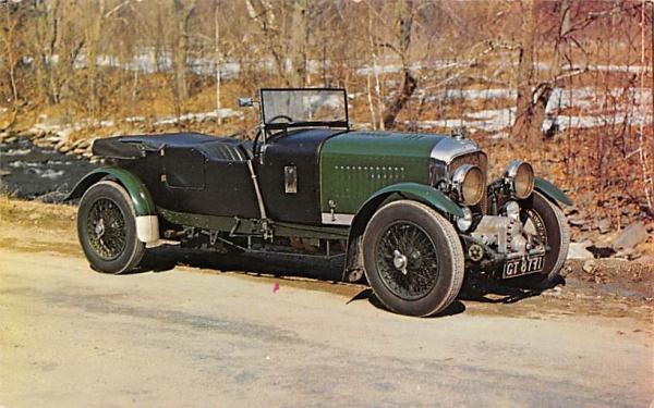 1931 Bentley Glen Cove, New York Postcard