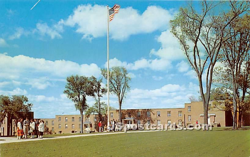 Main Campus, State University Teachers - Geneseo, New York NY Postcard
