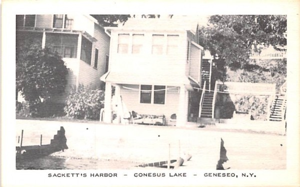 Sackett's Harbor Geneseo, New York Postcard