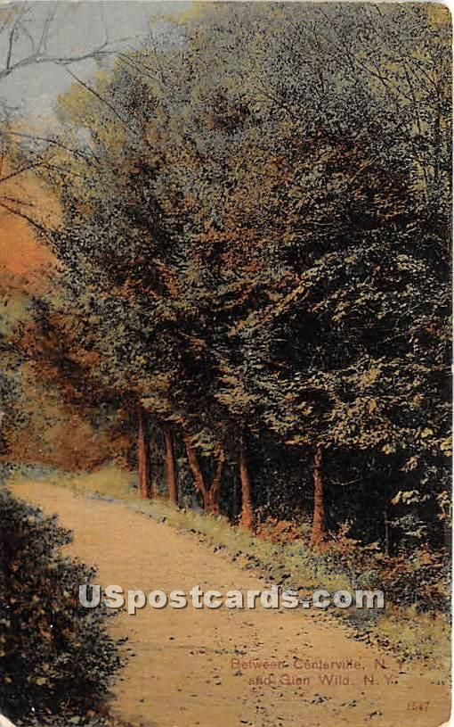 Centerville - Glen Wild, New York NY Postcard