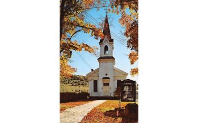 Grand Gorge Methodist Church New York Postcard