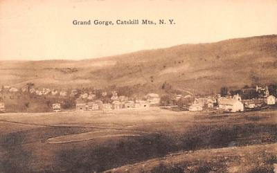 Catskill Mountains Grand Gorge, New York Postcard