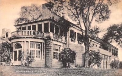 Broadlea School Goshen, New York Postcard
