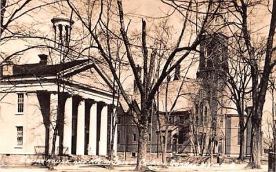 Court House & Methodist Church Goshen, New York Postcard