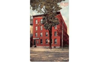 The Littauer Glove Factory Gloversville, New York Postcard