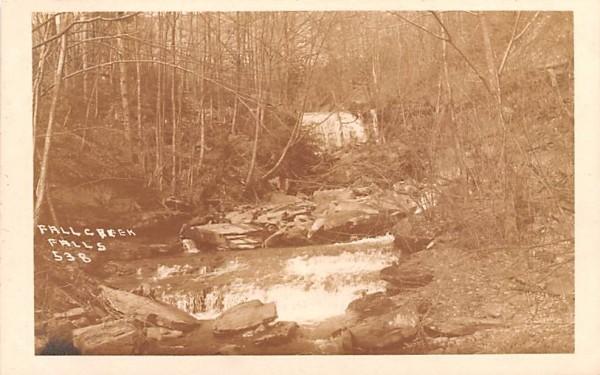Fall Creek Falls Hancock, New York Postcard