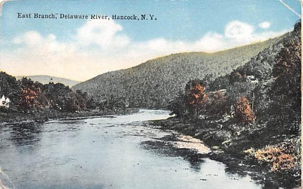 East Branch Hancock, New York Postcard