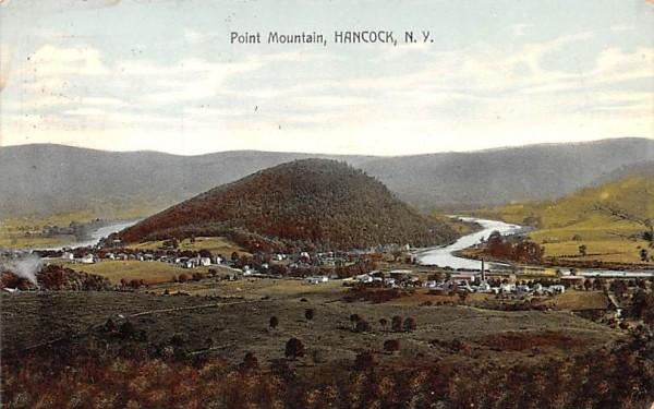 Point Mountain Hancock, New York Postcard