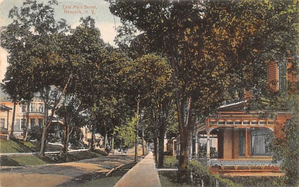 East Main Street Hancock, New York Postcard