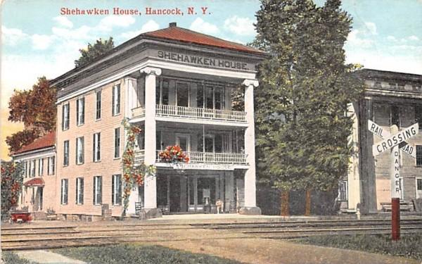 Shehawken House Hancock, New York Postcard