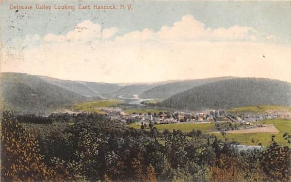 Delaware Valley Hancock, New York Postcard