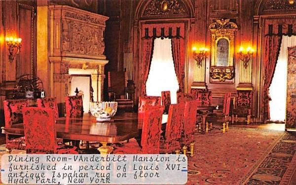 Dining Room Hyde Park, New York Postcard