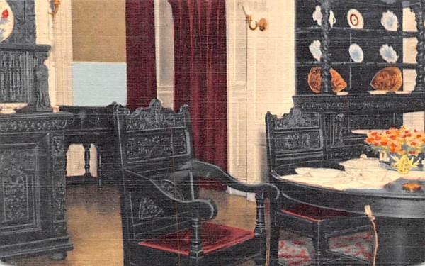 Home of Franklin D Roosevelt Hyde Park, New York Postcard