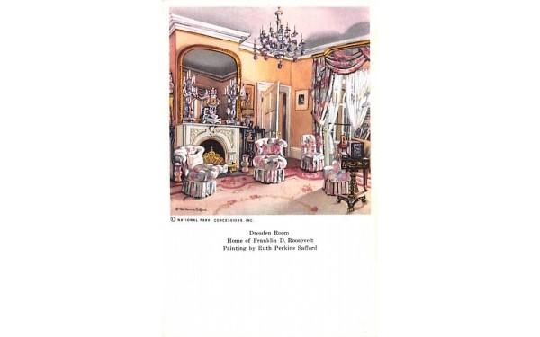 Dresden Room Hyde Park, New York Postcard